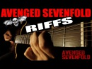 TOP10 AVENGED SEVENFOLD RIFFS