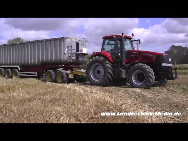Getreideernte Gut Hohen Luckow