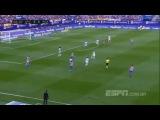 Атлетико М - Малага (Обзор матча)