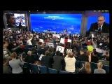 В Москве прошла большая пресс-конференция президента России Владимира Путина
