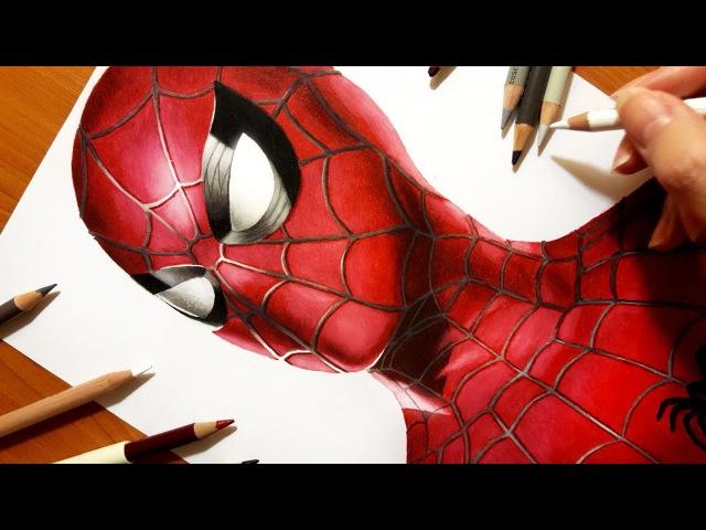 Speed Drawing: Spider-Man: Homecoming   Jasmina Susak