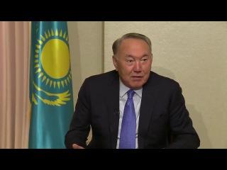 Президент Республики Казахстан Нурсултан Назарбаев о работе, нагрузках и здоровье.
