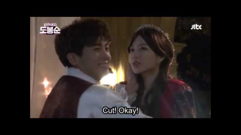 Park Bo Young Park Hyung Sik are Romeo Juliet! Behind The Scenes of STRONG WOMAN DO BONG SOON!