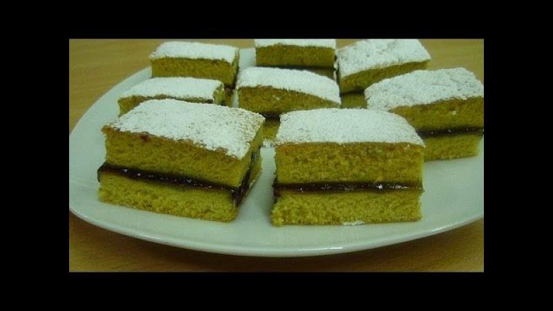 Бисквит Просто (Pan di Spagna) Быстро (Sponge Cake) Как приготовить