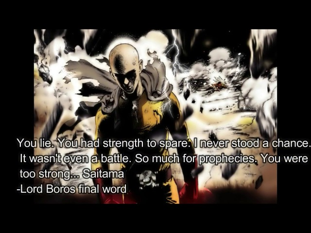 [Updated] Top 50 Strongest Beings in One Punch Man Webcomic/Manga (March 30th 2017)