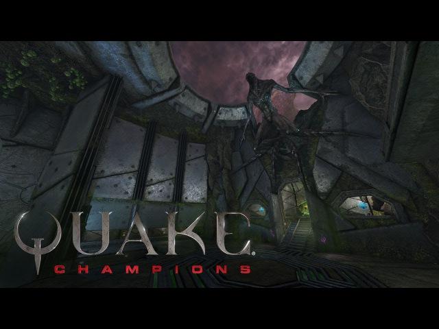 Quake Champions — видеоролик арены Lockbox
