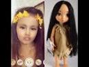 Евуля рассказывает о своих куклах Рапунцель Покахонтас и Ариэль