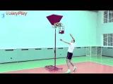 Тренажер для нападающего удара в волейболе