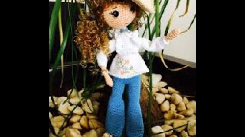 Como tejer muñeca Liliana Amigurumi By Petus tutoríal CUARTA PARTE