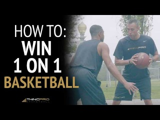 How to: 3 EASY WAYS to Win 1 on 1 Basketball (Beat Any Defender)
