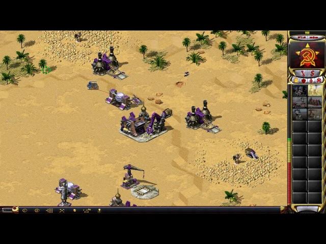 Red Alert 2 — DTA vs Cafe_Cafe on Dune Patrol