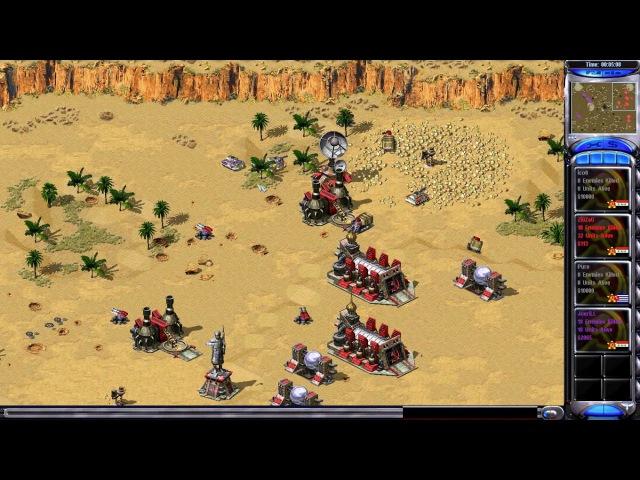 Red Alert 2 — JoeriLL vs ZiGZaG on Dune Patrol