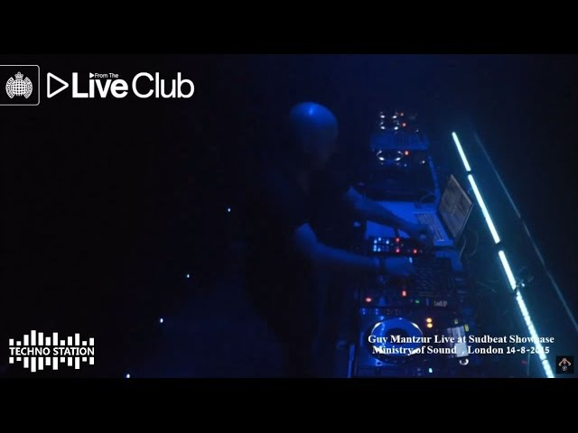 Guy Mantzur Live Set @ Sudbeat Showcase Ministry of Sound London 2015