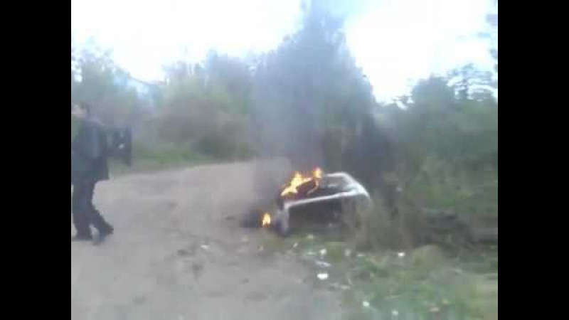 Бич пукнул на огонь и загорелся