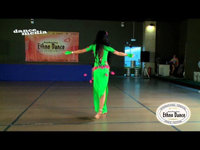 Зеленская Полина - Ethno dance 2015, юниоры 2, фольклор шааби