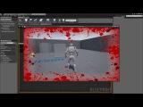 Unreal Engine 4 - Blood Splash Health Effect (Like Call of Duty)