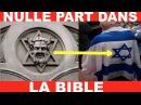 RÉVÉLATIONS CHOQUANTES sur l'origine de l'Étoile de David des juifs adoptée par les chrétiens
