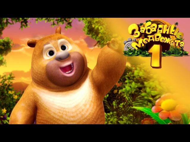 Забавные медвежата Медвежата соседи Мишки Дивный новый мир от Kedoo Мультфильмы для детей