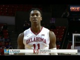 Kansas vs Oklahoma basketball 2017 (Jan. 10)