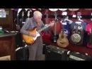 Дед решил купить гитару и показал как надо играть