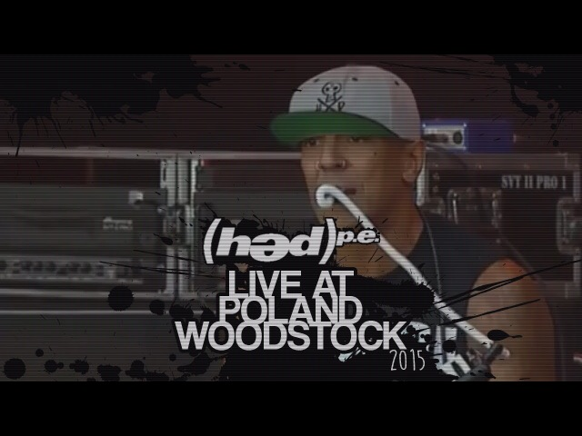 Hed p e Live at Poland Woodstock July 31 2015