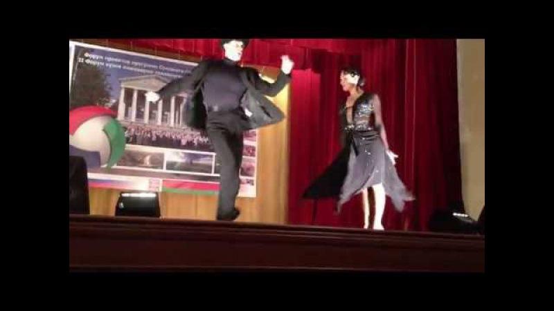 Dzianis Marasin and Yulia Krepchuk 2014 /BNTU show
