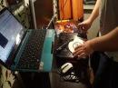 Dj Grifan portablist vinil scratch turntable numarkpt01scratch