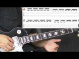 Sepultura - Troops Of Doom - Metal Guitar Lesson (with TABS)