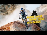 Aaron Chase Ripping Trails with AirDog