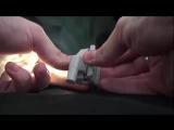 Накладка с LED подсветкой для мебельных петель