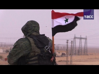 Вооруженные силы Сирии при поддержке ВКС России взяли Пальмиру