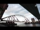 От начала до конца как поднимали автодорожную арку Крымского моста
