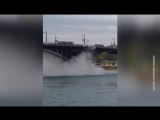 В Сети появилось видео прорыва трубопровода с горячей водой