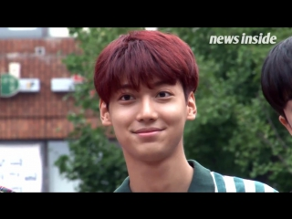 170825 Boyfriend going to Music Bank - news inside