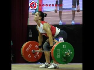 Куо Хсинг Чун - толчок 142 кг (58 кг)