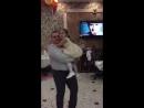 танец с папулей😊