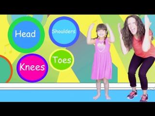 Head Shoulders Knees Toes _ Children Song _ Nursery Rhyme for Kids _ Patty Shukla