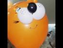 шарики оранжевое настроение