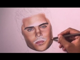 Drawing Zac Efron