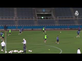 Подготовка команды к полуфиналу клубного чемпионата мира