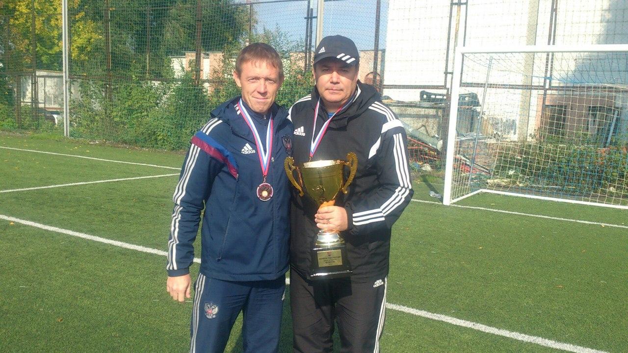 Новоуральцы стали призерами первенства России по футболу среди ветеранов