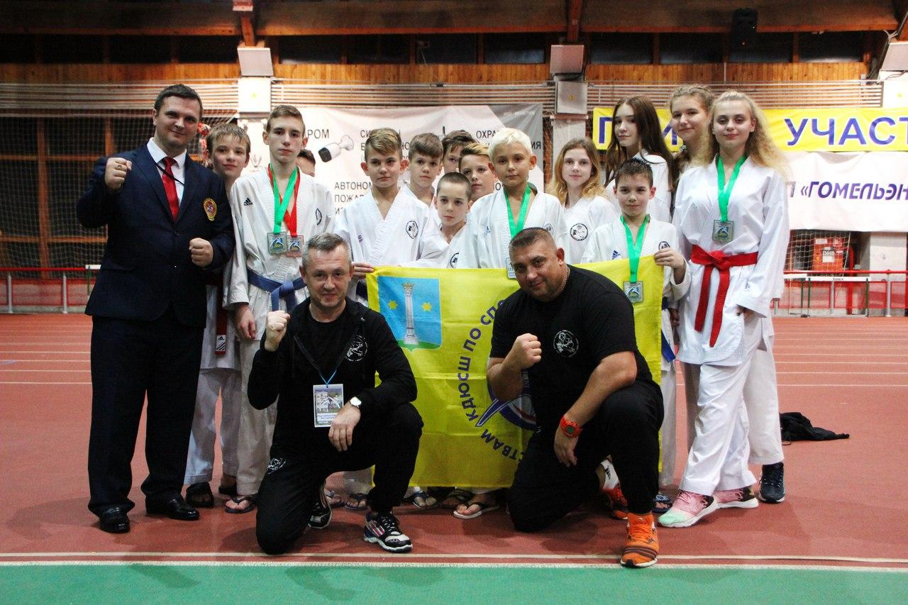 """Международные соревнования по каратэ """"Gomel open cup"""""""