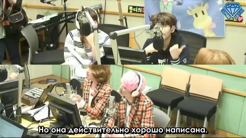 [150424] Super Junior Kiss the Radio - Sukira / Сукира - MD (KIM HEE CHUL (김희철), KIM JUNG MO (김정모)) (рус.саб)
