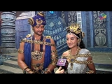 Rati Pandey And Aaditya Give A Set Tour For Their New Show Porus - Sony Tv