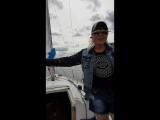 Прогулка на яхте по озеру Нарочь, август 2017 год