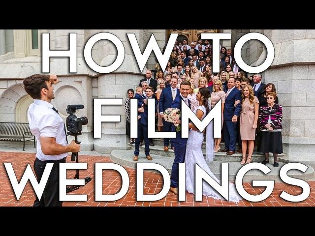How to Film A Wedding   Job Shadow