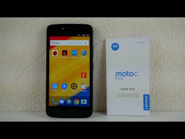 Motorola Moto C Plus. Обзор / от Арстайл /
