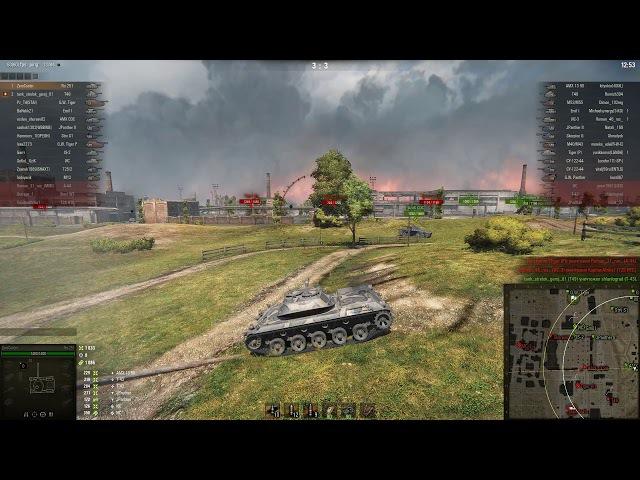 Промзона, Spähpanzer Ru 251, «Основной калибр»; «Воин»; «Танкист-снайпер»; «Братья по оружию»; Знак классности «Мастер»