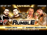 London Riots vs Sumerian Death Squad, tag team championship, Southside Wrestling 4th Anniversary