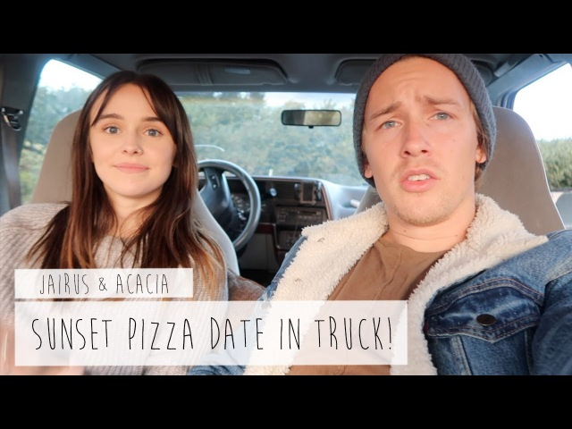 SUNSET PIZZA DATE?! | ACACIA JAIRUS